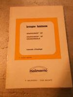 Vecchia pubblicita' LAVAGNE LUMINOSE GRAPHOSKOP - MALINVERNO - vintage COLLEZION