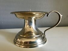 New listing Vintage Gatco Solid Brass Candle Holder Made In India