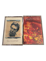 Paul McCartney (2) Cassette Tape Lot CLASSIC ROCK Beatles Wings