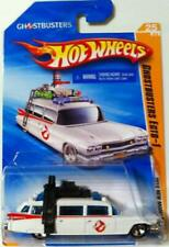 Hot Wheels 2010 New Models GHOSTBUSTERS ECTO-1 1959 Cadillac Wagon White / NIB