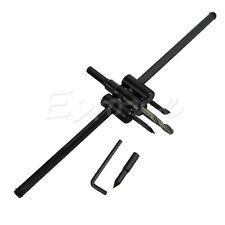 Adjustable Metal Wood Circle Cutter Kit Hole Saw Drill Bit DIY Tool 30mm-300mm