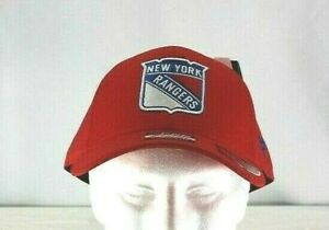 New York Rangers Red NHL  Baseball Cap Stretch Fit L/XL
