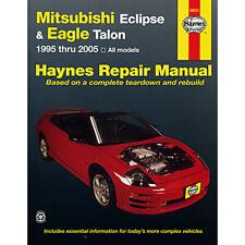 Mitsubishi Eclipse 1995-2005 Haynes USA Workshop Manual