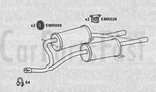 Klarius BB0//1//2/_,CB0//1//2/_ Exhaust Rear Back Box Renault Clio MK2 RN662D