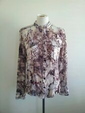 Individual Style! Seven Sisters size 3 polyester shirt in excellent condition