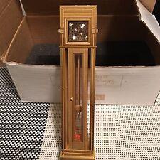 Bulova Miniature Mini Boutique B0597 Frank Lloyd Wright Collectible Clock. NIB