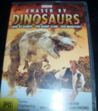 Chased By Dinosaurs Land Of Giants/Giant Claw/Sea Monsters (Aus Reg 4) DVD