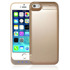 Backup Charger Case For iPhone 5 5S Ultra-Slim External Power back Battery Case