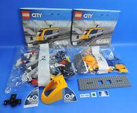 LEGO® City Eisenbahn 60197 Lok Waggon Endwaggon  / ohne Bluetooth Set