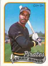 1989 O-Pee-Chee Barry Bonds #263