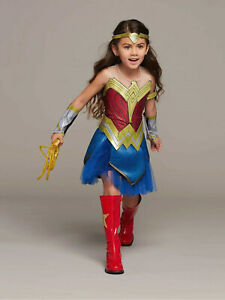 Ultimate Wonder Woman Costume for Girls Child AVAIL SIZE: S, M, L, XL