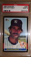1985 Donruss #295 Don Mattingly New York Yankees PSA 9 Mint