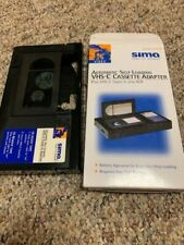 Sima Model Sca-P Automatic Self-Loading Vhs-C Adapter