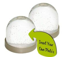 Make Your Own Photo/ Print Insert Snow Globes/ Waterball Gifts