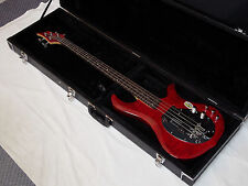 TRABEN Neo Limited 4-string BASS guitar NEW Trans Red Spalted Maple w/ HARD CASE