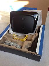 Linksys WAG54G2-DE 54 Mbps 4-Port 10/100 Funk Router (WAG54G2DE)