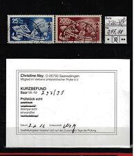 Deutsche Briefmarken des Saarlandes (1947-1959) mit BPP-Fotobefund