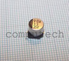 10 pezzi Condensatore elettrolitico SMD 33uF 35V  6,3 x 5,8mm