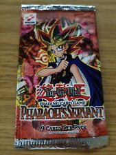 Yugioh Pharaoh's Servant Empty Booster Pack