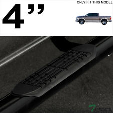 Topline For 2009 20132014 Dodge Ram Crew Cab 4 Oval Side Step Nerf Bars Blk Fits Dodge Ram 1500