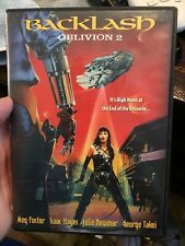 BACKLASH: OBLIVION 2 DVD! Like New Free Shipping