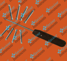 LCP safety locking screws 3.5 mm self tapping 220 Pieces Lot with screwdriver