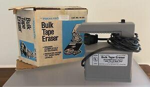 Radio Shack Realistic - Bulk Tape Eraser - Catalog Number 44-232 In Original Box