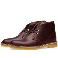 Clarks Original Mens ** Desert Boots ** Horween Wine Lea ** UK 6 / US 7 G