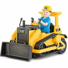 Battery Powered Toys Ride On Car Electric Trax Powered CAT Bulldozer Rideon Kid