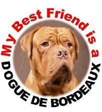 2 Dogue de Bordeaux MBF Car Stickers By Starprint