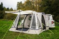 INFLATABLE AWNING DRIVE AWAY CAMPERVAN  - OLPRO LOOPO BREEZE SAGE GREEN & CHALK