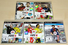 5 PLAYSTATION 3 PS3 SPIELE SAMMLUNG - FIFA 09 10 11 12 13 - NEUWERTIG