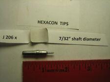 """Hexacon J 206x, soldering tip, 7/32"""" diameter, Weller ET, fits Weller WES"""