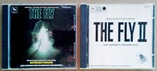 THE FLY - VARESE SARABANDE - JAPAN CD + THE FLY II - VARESE SARABANDE - USA CD