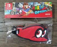 Super Mario Odyssey Luggage Tag - Nintendo Switch Promo Swag Rare & Collectible