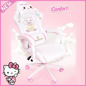 Comfortable Office Computer Chair Girls Gaming Cute Cartoon Chair kids Bedroom