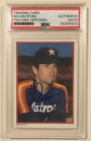 1984 Topps Send In Glossy All-Star NOLAN RYAN Signed Auto Baseball Card PSA/DNA