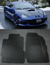 All Weather Black Rubber Floor Mats Liner Front Rear For 00-05 Toyota Celica