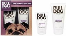 Bull Dog OIL CONTROL BOXED GIFT SET for Men - Moisturiser 100ml + Face Wash 150m