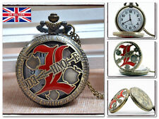 New death note l collier montre de poche anime cosplay * vendeur britannique *