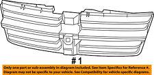 Dodge CHRYSLER OEM 08-10 Grand Caravan-Grille Grill 5113126AA