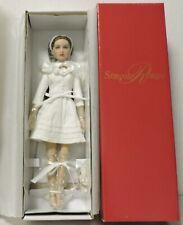"""Tonner Effanbee Gardenia Crisp Simone Rouge 10"""" Doll, Brunette, White Dress Mib"""