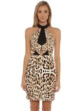 Brand New finders keepers Bring Paradise Dress in Leopard Print Large