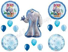 Small Foot Migo Yeti Happy Birthday Party Balloons Decoration Supplies Movie