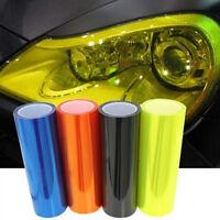 Car Fog Head Lights Green Tint Film Custom PVC Protective Cover Lens Universal