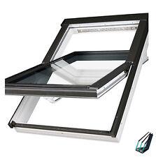 Dachfenster FAKRO PTP-V U5 94x140 superenergiesparende + EZV Eindeckrahmen PK08