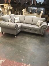 Paris Chesterfield Corner Suite. Coffee. Many Colours Available