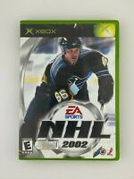 NHL 2002 - Original Xbox Game - Complete & Tested