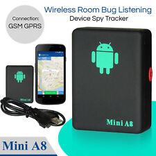 Mini Spy Bug Room Remote Voice Surveillance GSM Listening Box Device Sim Slot UK
