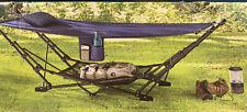 Portable Folding Steel Frame Hammock with Bag